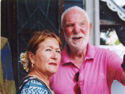 Luise and Sir Anthony Caro in Tobago